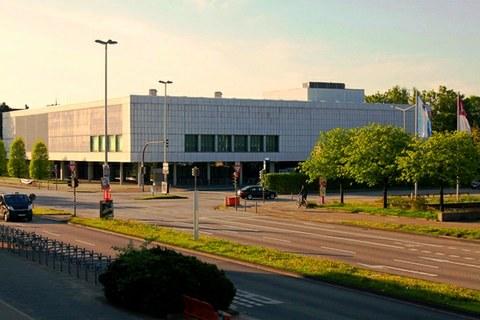 Blick auf Gebäude Westring 400